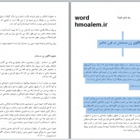 دانلود مقاله تبیین الگوی زن مسلمان در قرن حاضر